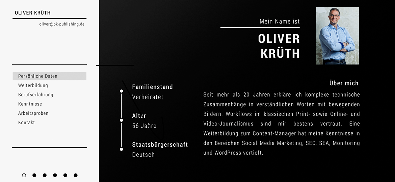 Vorschaubild für Imagefilm von Oliver Krüth